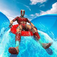 超级英雄水上公园幻灯片19游戏ios首发
