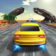 快速的赛车在高速公路上游戏正版