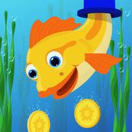 Gold Fish Drop游戏