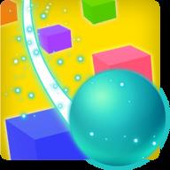 滑动彩色球3D手游