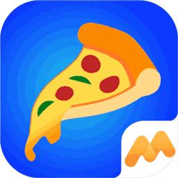 摆摊卖披萨