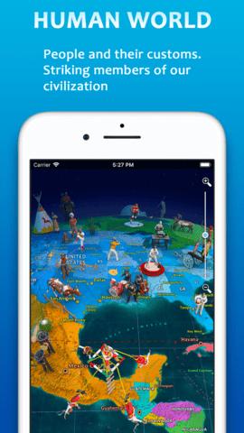 3D地球世界地图集中文苹果版