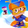 像素方块滑雪mod版