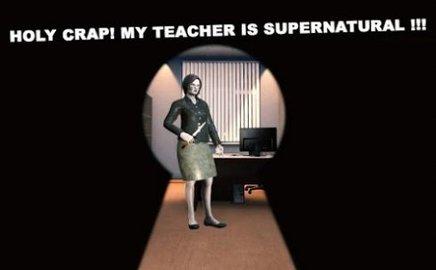 可怕的数学教师课堂恐怖逃生无限提示金手指版