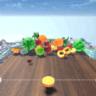 抖音3D弹水果